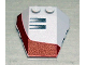 Part No: 48933pb003  Name: Wedge 4 x 4 Triple with Stud Notches with Set 7260 Right Pattern