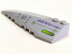 Part No: 50955pb007  Name: Wedge 10 x 3 Left with Alien Ship Hull Pattern (Sticker) - Set 7051