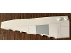 Part No: 50955pb044  Name: Wedge 10 x 3 Left with SW Imperial Assault Carrier Hull Plates Pattern (Sticker) - Set 75106