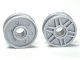 Part No: 56902  Name: Wheel 18mm D. x  8mm with Fake Bolts and Shallow Spokes