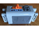Part No: 59510c01pb03  Name: Electric 9V Battery Box 4 x 11 x 7 PF with Blue and Red Arrows Pattern (Sticker) - Set 8052