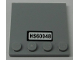 Part No: 6179pb171  Name: Tile, Modified 4 x 4 with Studs on Edge with 'HS60048' Pattern (Sticker) - Set 60048