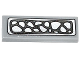 Part No: 63864pb031  Name: Tile 1 x 3 with Silver Crocodile Scales Pattern (Sticker) - Set 70126