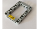Part No: 64179pb001  Name: Technic, Liftarm 5 x 7 Open Center Frame Thick with Warning Sign Pattern (Sticker) - Set 42082