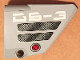 Part No: 64680pb007  Name: Technic, Panel Fairing #14 Large Short Smooth, Side B with 'DS-3', Black Mesh Grilles and Red Knob Pattern (Sticker) - Set 7160
