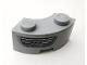 Part No: 85080pb04L  Name: Brick, Round Corner 2 x 2 Macaroni with Stud Notch and Reinforced Underside with Headlight Pattern Model Left Side (Sticker) - Set 75910