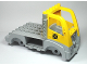 Part No: 85359c01pb01  Name: Duplo, Toolo Truck Chassis Assembly with Flatbed and Yellow Cab