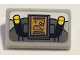 Part No: 85984pb189  Name: Slope 30 1 x 2 x 2/3 with Control Panel and Handle Pattern (Sticker) - Set 75053