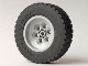 Part No: 86652c01  Name: Wheel 62.4 x 20 with Short Axle Hub, with Black Tire 62.4 x 20 (86652 / 32019)