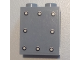 Part No: 87552pb042  Name: Panel 1 x 2 x 2 with Side Supports - Hollow Studs with 8 Rivets Pattern (Sticker) - Set 6864