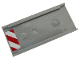 Part No: 87913pb001L  Name: Ladder Holder for Ladder 14 x 2.5 with Red and White Danger Stripes Pattern Model Left Side (Sticker) - Set 60203