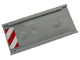 Part No: 87913pb001R  Name: Ladder Holder for Ladder 14 x 2.5 with Red and White Danger Stripes Pattern Model Right Side (Sticker) - Set 60203