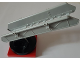 Part No: 93151c02  Name: Duplo Ladder (Fire) Telescoping Lower Section on Black Turntable with Red Turntable 4 x 4 Base
