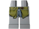 Part No: 970c00pb0163  Name: Hips and Legs with Olive Green Coattails Pattern (Legolas)