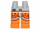 Part No: 970c04pb03  Name: Hips and Orange Legs with SW Pilot Pockets and Gray Belts Pattern