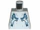 Part No: 973pb0617  Name: Torso Atlantis Shark Pattern
