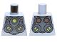 Part No: 973pb1229  Name: Torso Armor with Lime Circles Pattern (Doc Ock)