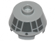 Part No: 98100pb15  Name: Cone 2 x 2 Truncated with Dark Bluish Gray Millennium Falcon Cockpit on Side Pattern