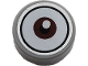 Part No: 98138pb143  Name: Tile, Round 1 x 1 with Centered Reddish Brown Eye Pattern