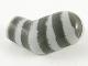Part No: 981pb239  Name: Arm, Left with 5 Dark Bluish Gray Stripes Pattern