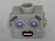 Part No: 98384pb02  Name: Minifigure, Head Modified Robot Female Pattern