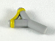Part No: bb0664pb02  Name: Minifigure, Weapon Slingshot with Yellow Band Pattern