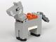 Part No: minedonkey01  Name: Minecraft Donkey - Brick Built