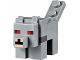 Part No: minewolf02  Name: Minecraft Wolf, Red Eyes - Brick Built