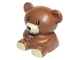 Part No: 11382c01pb02  Name: Duplo Teddy Bear with Tan Mouth and Feet Pattern