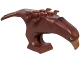 Part No: 11435pb02  Name: Eagle Body with Beak, Eyes and Dark Brown Head and Tail Feathers Pattern