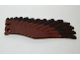 Part No: 11778pb01  Name: Eagle Wing - Left with Dark Brown Feathers Pattern