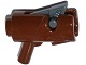 Part No: 15391c01  Name: Minifigure, Weapon Gun, Mini Blaster / Shooter with Dark Bluish Gray Trigger (15391 / 15392)