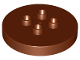 Part No: 15516  Name: Duplo, Brick Round 4 x 4 Flat Top with 2 x 2 Studs