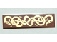 Part No: 2431pb043  Name: Tile 1 x 4 with Viking Snakes Pattern