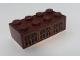 Part No: 3001pb148  Name: Brick 2 x 4 with Six Arched Windows Pattern (Sticker) - Set 75948