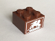 Part No: 3003pb088  Name: Brick 2 x 2 with White Winged Lion Pattern