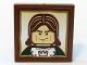 Part No: 3068bpb0182  Name: Tile 2 x 2 with Groove with Castle Soldier Portrait Pattern (Sticker) - Set 10193