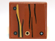 Part No: 3068bpb0653  Name: Tile 2 x 2 with Groove with Wood Grain and Nails Pattern (Sticker) - Set 9473