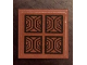 Part No: 3068bpb1265  Name: Tile 2 x 2 with Groove with Parquet Style Tiles Pattern (Sticker) - Set 71043