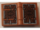 Part No: 33009pb044  Name: Minifigure, Utensil Book 2 x 3 with Eye of Sauron Pattern (Stickers) - Set 10237