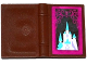 Part No: 33009pb048  Name: Minifigure, Utensil Book 2 x 3 with Ice Castle Pattern (Sticker) - Set 41062