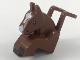 Part No: 35704pb01  Name: Minifigure, Costume Horse Head and Legs with Black Eyes and Hooves, White Blaze Pattern