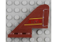 Part No: 3587pb07  Name: Tail Old with Yellow Lines, Red '4778' and White Flap Pattern on Both Sides Pattern (Stickers) - Set 4778