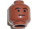 Part No: 3626bpb0159  Name: Minifigure, Head Male Arched Eyebrows and Thin Line Mouth Pattern (SW Mace Windu) - Blocked Open Stud
