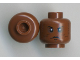 Part No: 3626cpb0807  Name: Minifigure, Head Alien with Black Mouth and Dots on Cheeks Pattern (SW Agen Kolar) - Hollow Stud