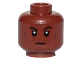 Part No: 3626cpb1999  Name: Minifigure, Head Forehead Lines, Cheek Lines and Chin Dimple Pattern (SW Mace Windu) - Hollow Stud