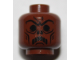 Part No: 3626cpb2630  Name: Minifigure, Head Alien with HP Death Eater Skull Mask Pattern