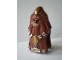 Part No: 51217pb01  Name: Minifigure, Head Modified SW Wookiee, Warrior with Gold and Silver Pattern
