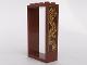 Part No: 60599pb01L  Name: Door Frame 2 x 4 x 6 with Gold Dragon Pattern Model Left Side (Sticker) - Set 70617