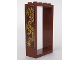 Part No: 60599pb01R  Name: Door Frame 2 x 4 x 6 with Gold Dragon Pattern Model Right Side (Sticker) - Set 70617